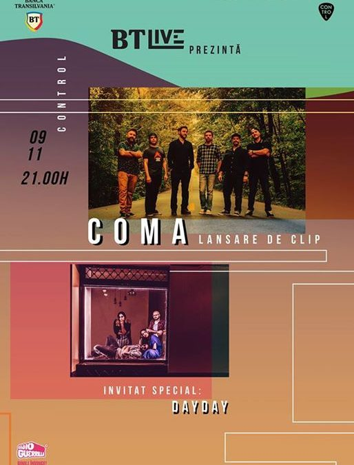 COMA. Invitat special: DayDay at BTLive