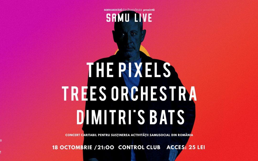 Samu live: The Pixels / Trees Orchestra / Dimitri's Bats