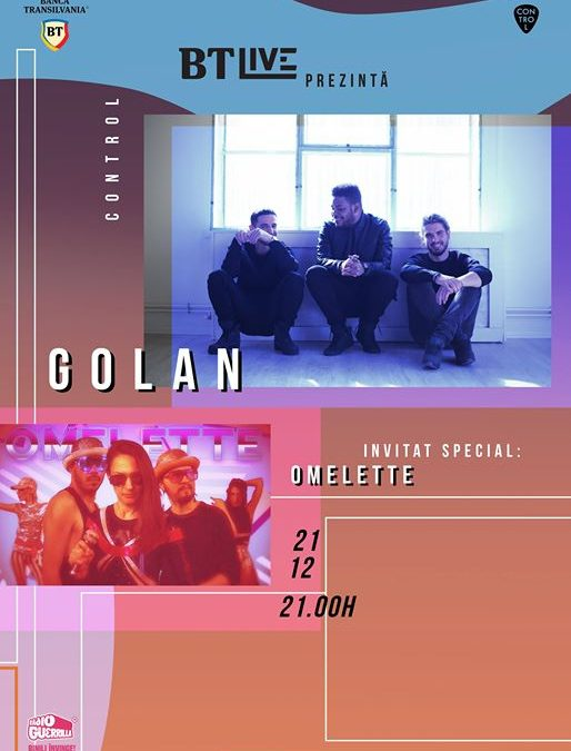 BT Live: GOLAN / Omelette