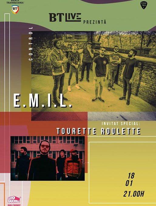 EMIL / Invitat: Tourette Roulette la BT Live