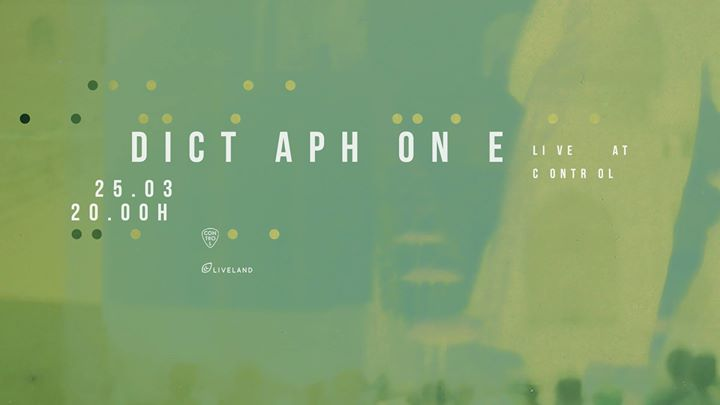 Dictaphone live   Avant Sessions at Control