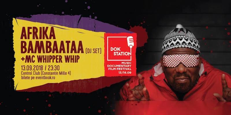 Dokstation presents Afrika Bambaataa & MC Whipper Whip (DJ Set)