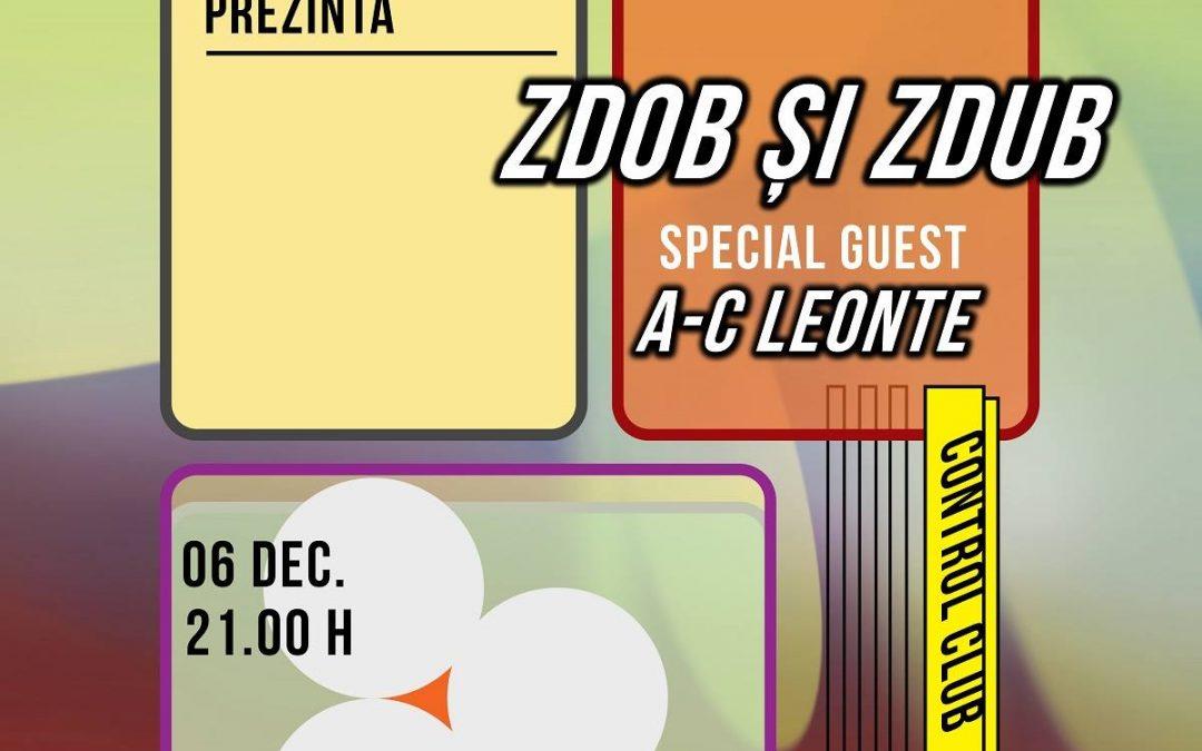 Zdob și Zdub + A-C Leonte @ BT Live