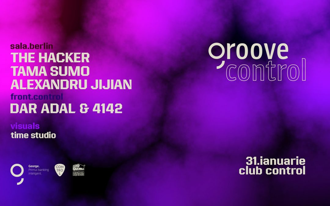 Groove Control #2: The Hacker, Tama Sumo and more